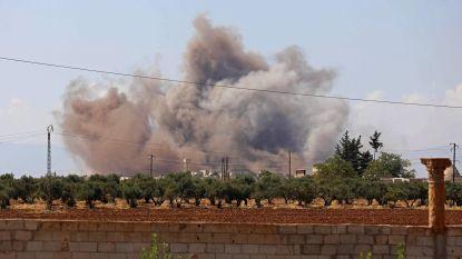 Weer zware bombardementen op Syrische Idlib