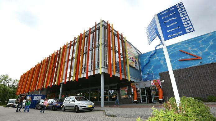 Sportcentrum De Vallei, waarin LaVita Veenendaal gevestigd is.