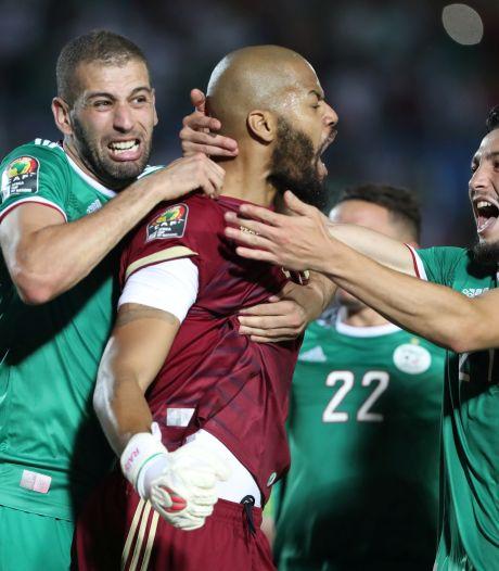 Algerije na penalty's voorbij Ivoorkust