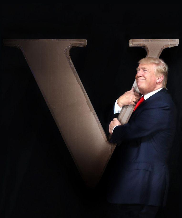 Mogelijk de 45ste president van de Verenigde Staten: Donald Trump. Beeld Studio V