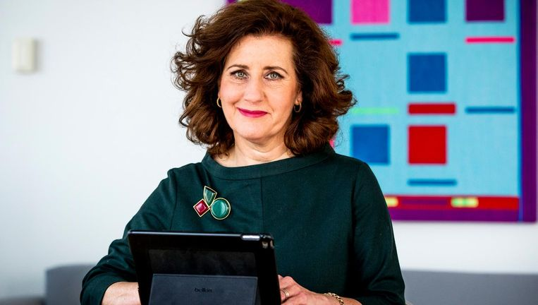 Ingrid van Engelshoven (D66), minister van Cultuur in het derde kabinet-Rutte. Beeld anp