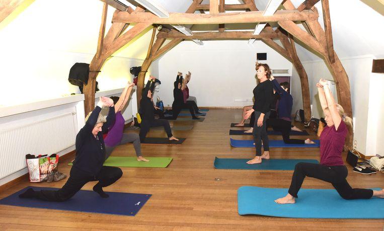 In Beersel worden vanaf januari yogalessen georganiseerd.