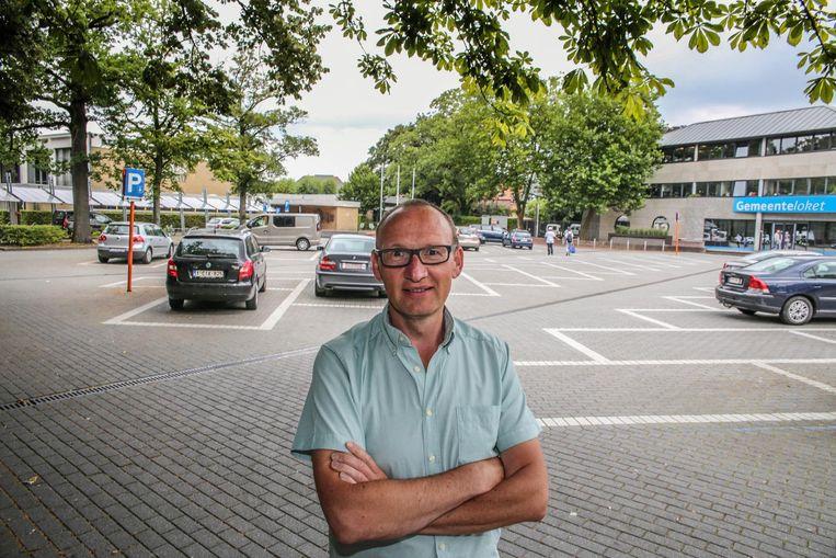 Burgemeester Jan Seynhaeve (CD&V)