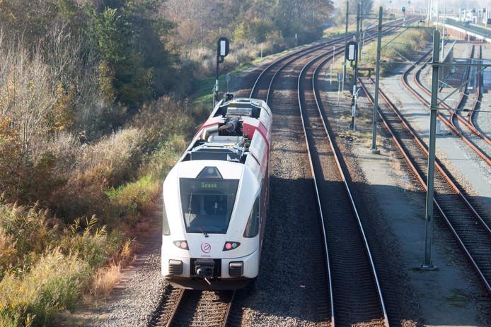 Geen treinen tussen Zevenaar en Wehl. Foto ter illustratie.