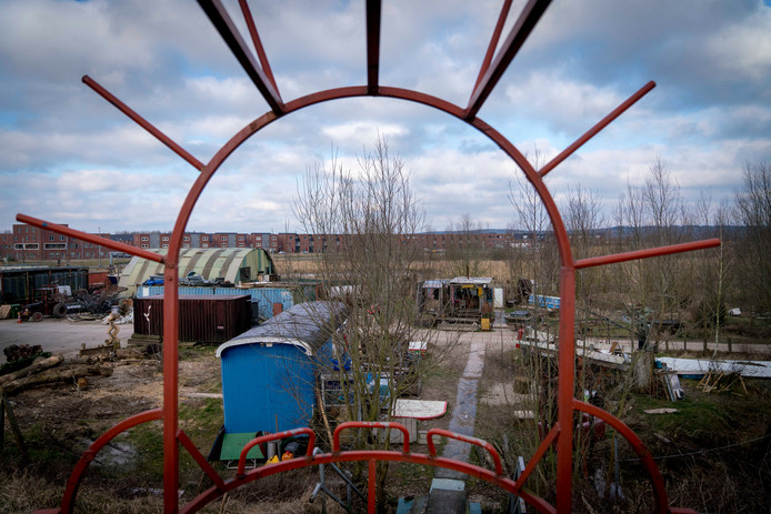 Op de plek van de voormalige Kunstwerkplaats Schuytgraaf verrijzen de komende vijf jaar zo'n 400 woningen.