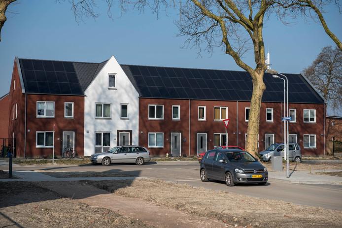 Nieuwe energiezuinige huurwoningen van Clavis in Terneuzen.