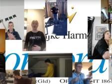 Slagwerkgroep uit Hengelo neemt tóch samen video op