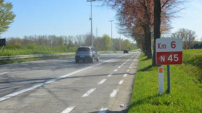 Trajectcontrole op N45 uitgesteld naar volgende maand