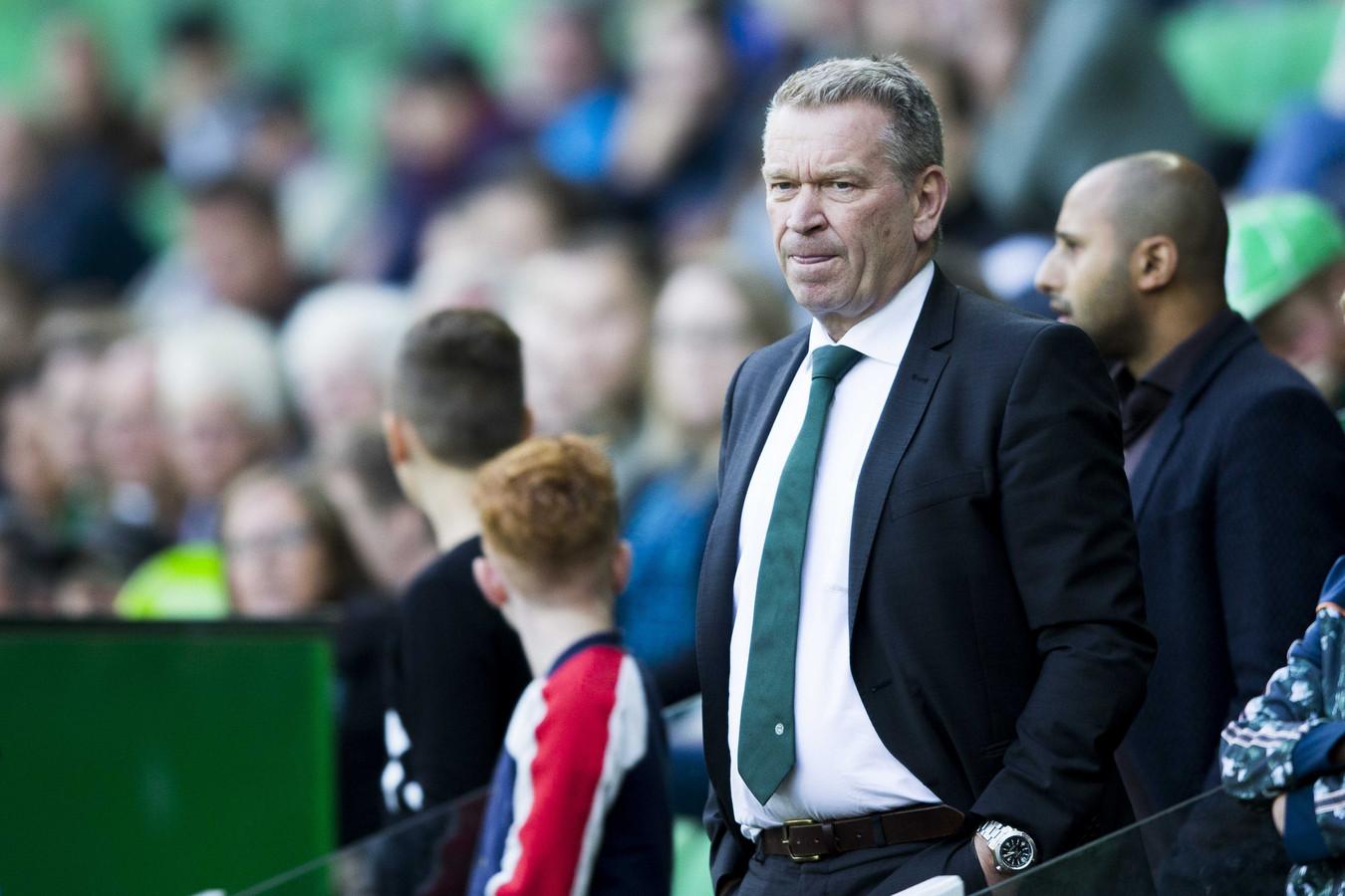 Algemeen directeur Hans Nijland van FC Groningen.