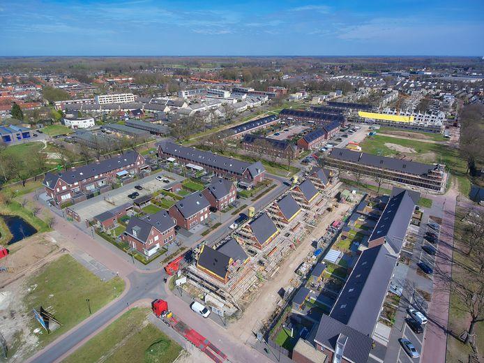 Hulzebraak is de laatste grote nieuwbouwwijk van Schijndel. Voorlopig komt er geen grote bouwlocatie bij.