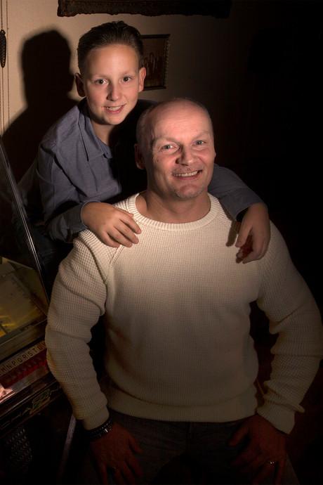 'Arno van Gradje' zingt grote hit nu met zijn eigen zoon