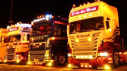 Driehonderd trucks nemen deel aan Super Brut Diesel Meeting