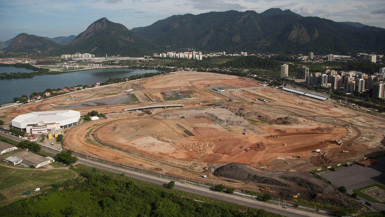 De werken aan de Olympische infrastructuur in Rio loopt grote vertraging op.