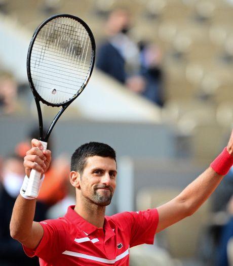 Djokovic staat ook in tweede ronde maar vijf games af
