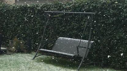 (Smeltende) sneeuw zorgt voor eerste winterbeelden