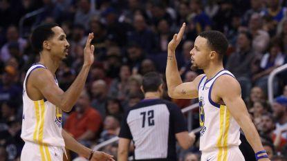 VIDEO. Golden State Warriors pakken op de valreep de volle buit in Phoenix dankzij Curry