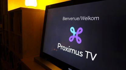 Ook gisterenavond problemen met televisie bij Proximus door
