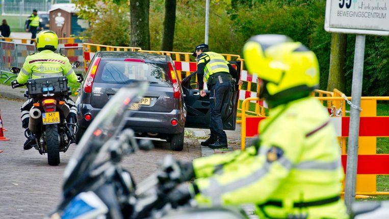 De politie mag niet etnisch profileren in het verkeer. Beeld anp