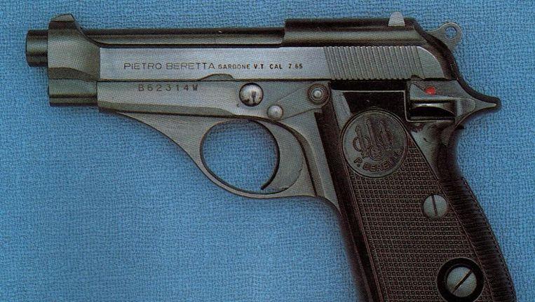 In het ouderlijk huis van El B. lag een doorgeladen pistool, waarvoor hij nu wordt vervolgd. Beeld Wikimedia