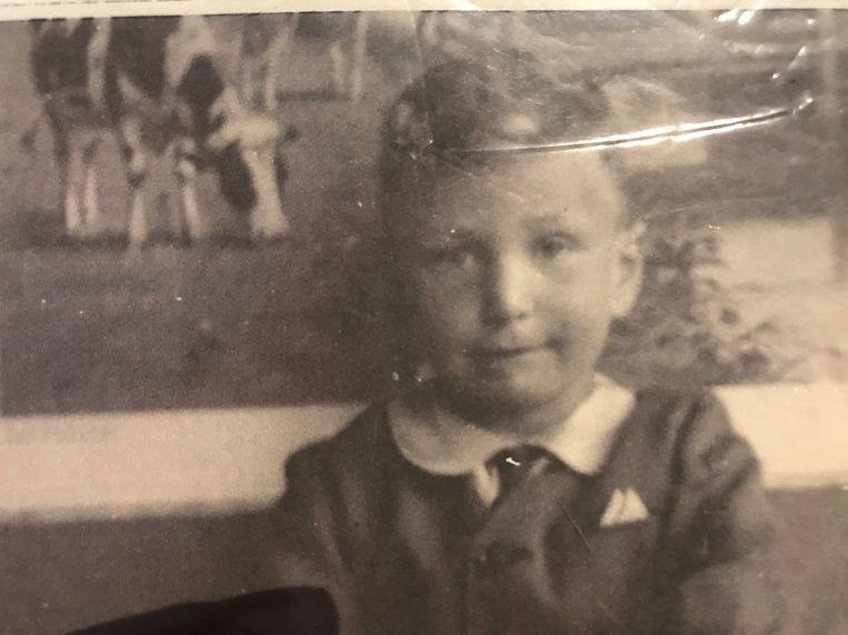 Jeugdfoto Davids, datum onbekend. Beeld Privéarchief