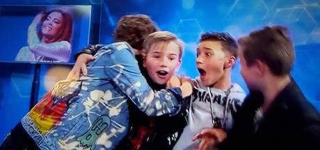 Boyband Fource wint Junior Song Festival