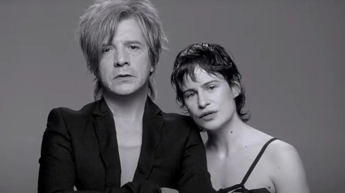 Nicola Sirkis du groupe Indochine et Christine and the Queens