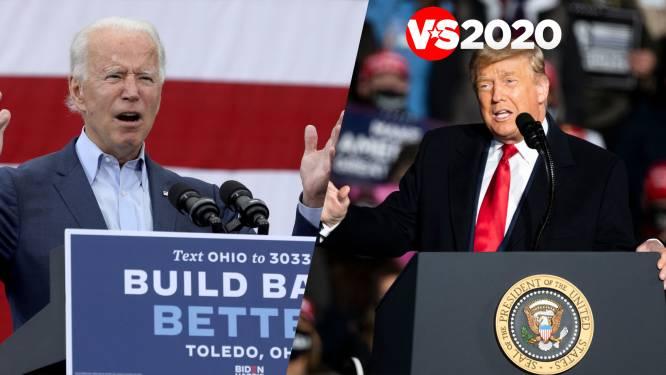 VERKIEZINGSBLOG. Volg hier straks live het debat tussen Biden en Trump