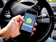 'Celstraf voor appen achter het stuur'