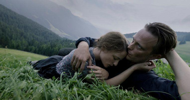 'A Hidden Life' van regisseur Terence Malick is een film die stelling neemt tegen het kwaad dat in horrorachtige gedaanten rondwaart. Beeld  Trouw