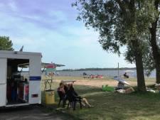 Foodtruck bij strandje Belterwijde