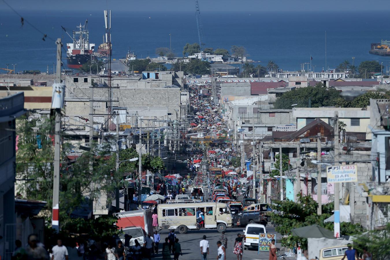 Port-au-Prince, le 13 janvier dernier.