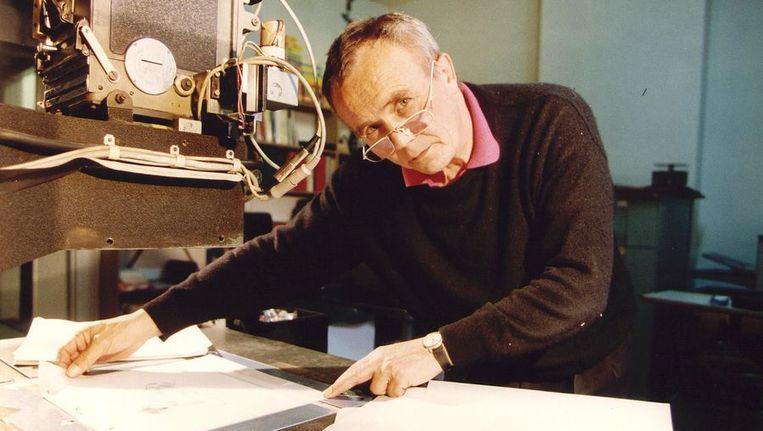 Gerrit van Dijk in 1993 Beeld ANP