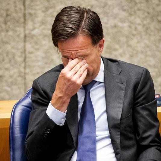 Rutte wil ook weten waar het steungeld aan besteed gaat worden.