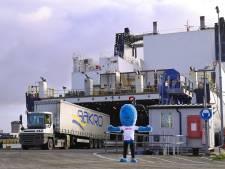 Brexit-perikelen: vrachtwagenchaffeur Martin Fraaije uit Tilburg stond drie dagen vast in Engelse haven