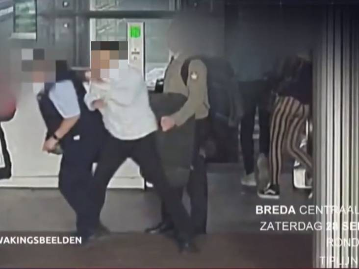 Mishandelde conductrice station Breda 'werkt weer en maakt het goed'