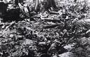 Een foto van de restanten van de strijd bij Dreyeroord uit de 'Berliner Illustrierte'. Foto Kriegsberichter Jacobsen