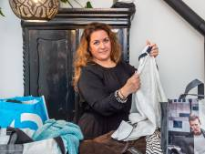 Sammy Labbaci uit Gouda deelt gratis merkkleding uit voor alleenstaande moeders