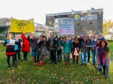 Protest tegen dreigende sluiting Parasol in Veldhoven
