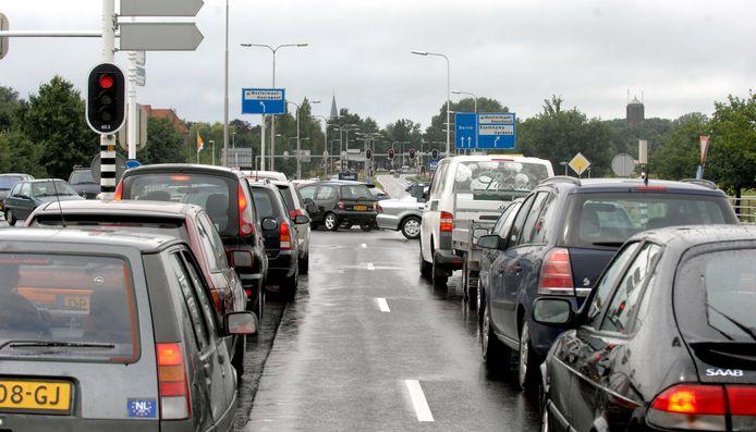 Verkeer richting Ikea en MediaMarkt moet weer rekening houden met extra drukte vanwege werk aan de verkeerslichten.