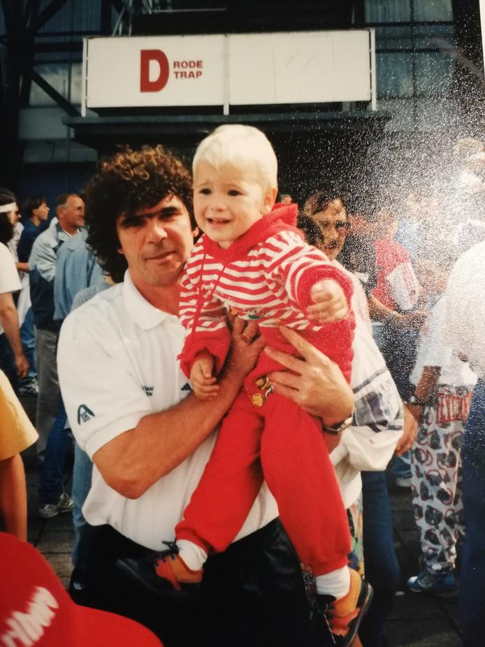 Willem van Hanegem op de open dag van Feyenoord (1992)
