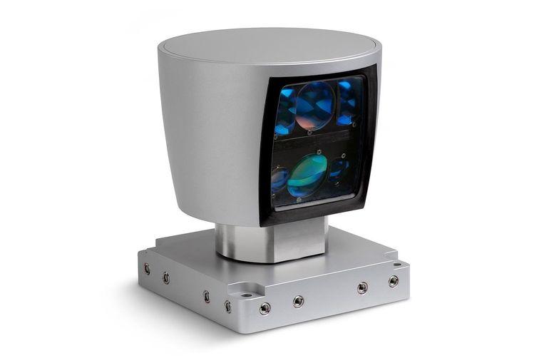 Lidar is een apparaat dat in hoog detail de omgeving rondom scant Beeld x