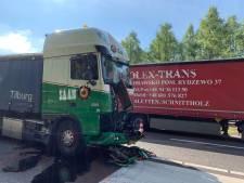 Ongeluk met vrachtwagen veroorzaakt file op A59 bij Den Bosch