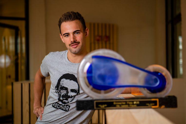 Victor Campenaerts won onlangs nog de Kristallen Fiets.