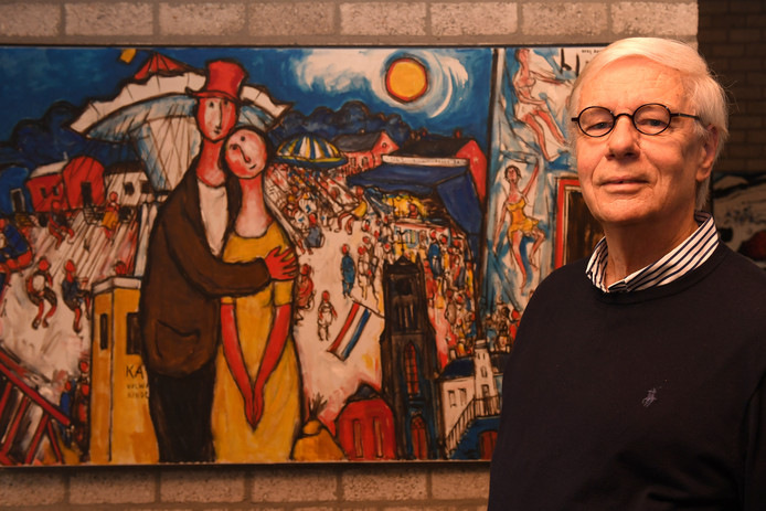 Bas Bastiaans probeert zoveel mogelijk schilderijen van zijn overleden vader, de Millse kunstschilder Kees Bastiaans, te traceren.