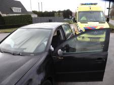 Automobilist heeft engeltje op schouder bij ongeval in Oss, lading in auto schuift over zijn hoofd
