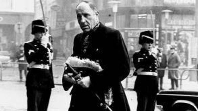 Minister Joseph Luns, zag de excellentiezeggers verdwijnen. ( ANP) Beeld
