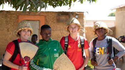 In het spoor van de Red Flames in Benin: bekijk de hoogtepunten van hun voetbalmissie in Afrika