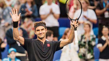 Federer begint voortvarend aan nieuw seizoen - Bonaventure sneuvelt in tweede kwalificatieronde Auckland
