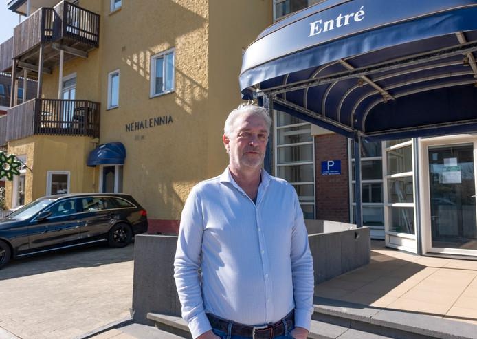"""Hotelier Tom Maas: ,,Lang niet iedereen wil zijn aanbetaling terug."""""""