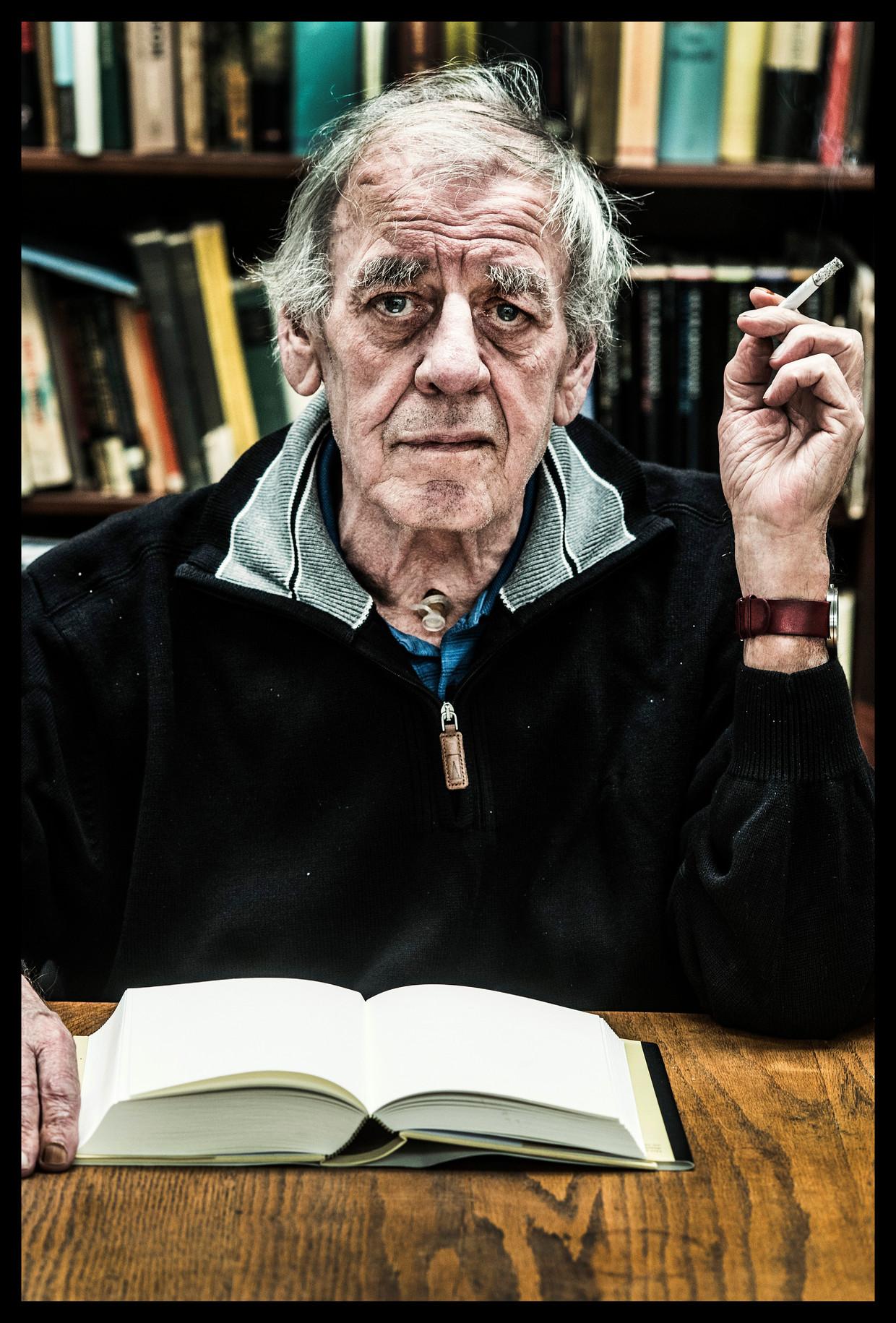 Jeroen Brouwers, 2017, schrijver Beeld Saskia Vanderstichele